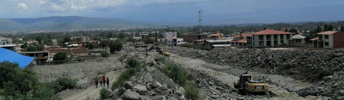Flujos de detritos de Tiquipaya: la reincidencia en los errores